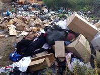 В Приморье выбросили и сожгли собранные волонтерами вещи для подтопленцев