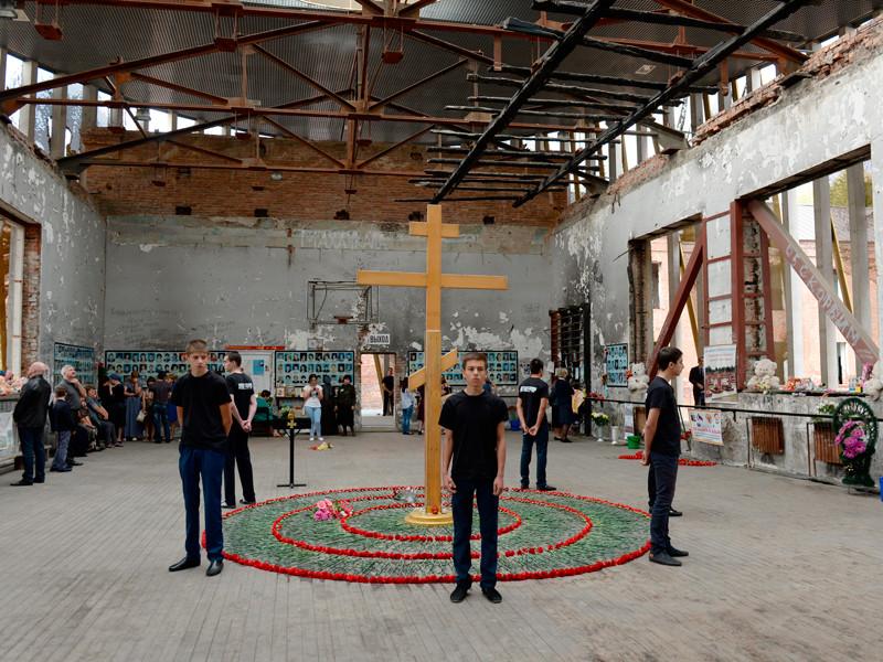 Траурные мероприятия в Беслане, 1 сентября 2016 года
