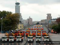 В Москве ради парада коммунальной техники перекрыли Садовое кольцо