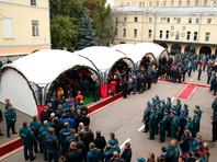 Восьмерых пожарных, погибших при тушении склада в Москве, посмертно наградили орденами Мужества
