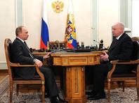Владимир Путин и Александр Бастрыкин, февраль 2015 года
