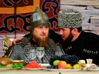 Кадыров появился перед чеченскими женщинами в боевых доспехах, с мечом и копьем (ВИДЕО)