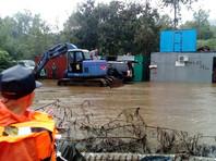 В Приморье более тысячи домов подтоплены после тайфуна Lionrock, сотни человек эвакуированы