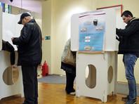 В Петербурге на участке задержали порвавшего бюллетень избирателя