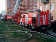 В Ростове-на-Дону горел жилой дом, жильцов эвакуировали