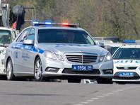 В Москве на Кутузовском проспекте иномарка насмерть сбила полицейского