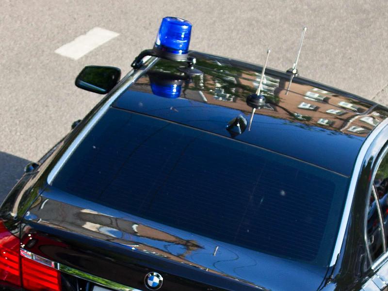 На Новом Арбате произошло ДТП с участием BMW с госномерами