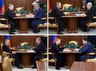 Бумага, карандаши и ботинки Путина выдали возможную недостоверность графика президента