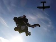 Пермячка отметила 80-летие прыжком с парашютом