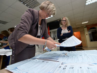 Четыре непарламентские партии получают по месту в Госдуме после обработки 25% бюллетеней