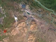 """NASA: Загрязнение реки у завода """"Норникеля"""" наблюдается регулярно, на снимках из космоса она была красной еще в 2001 году"""