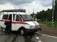 В Подмосковье электричка сбила легковой автомобиль, один человек погиб