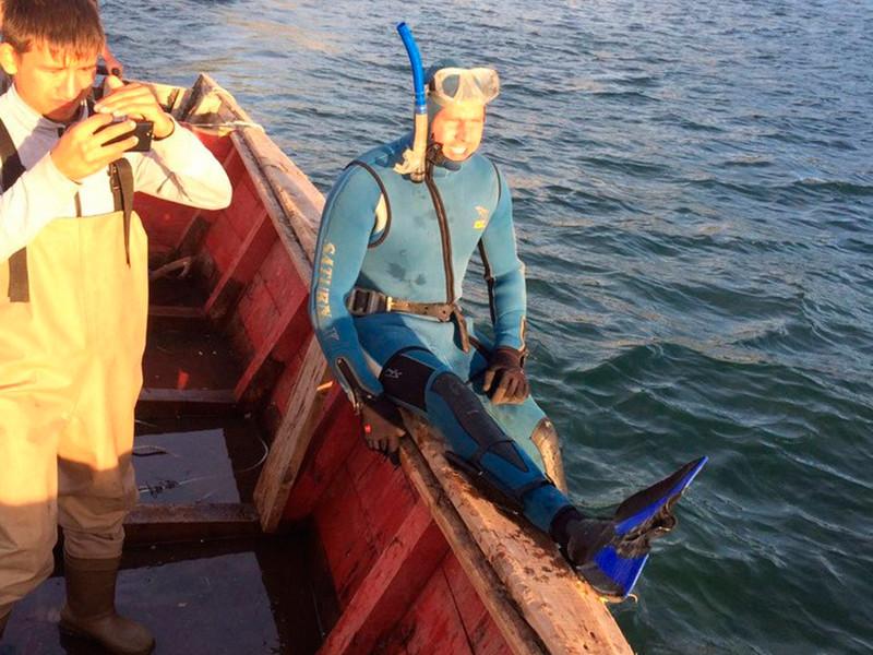 Сахалинский эколог подружился с китом и отговорил его от самоубийства