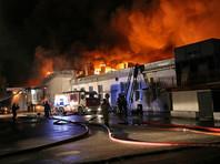 Обнаружены тела восьми спасателей, которые тушили пожар на складе на востоке Москвы