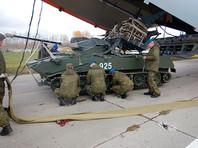 Российские десантники отправились в Египет на первые совместные учения