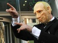 Задержанного у Кремля активиста в маске Путина посадили на 20 суток