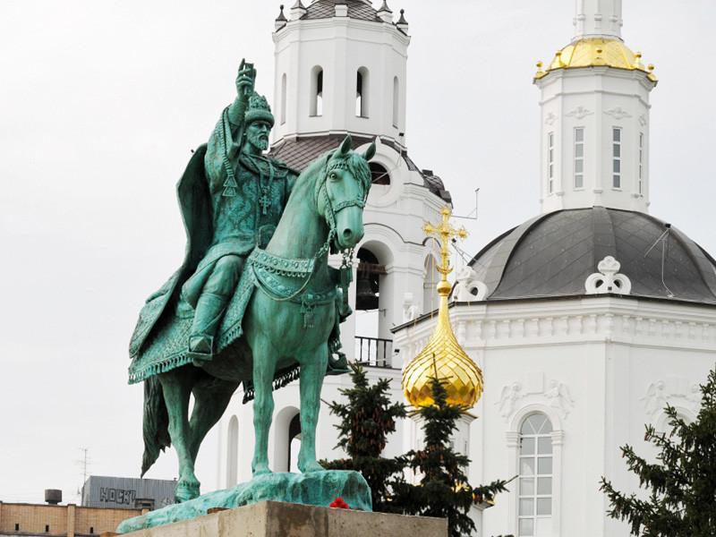 В Орле в пятницу, 14 октября, состоялась торжественная церемония открытия первого в России памятника Ивану Грозному