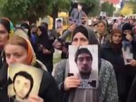В  Махачкале матери пропавших без вести  дагестанцев  снова вышли на площадь