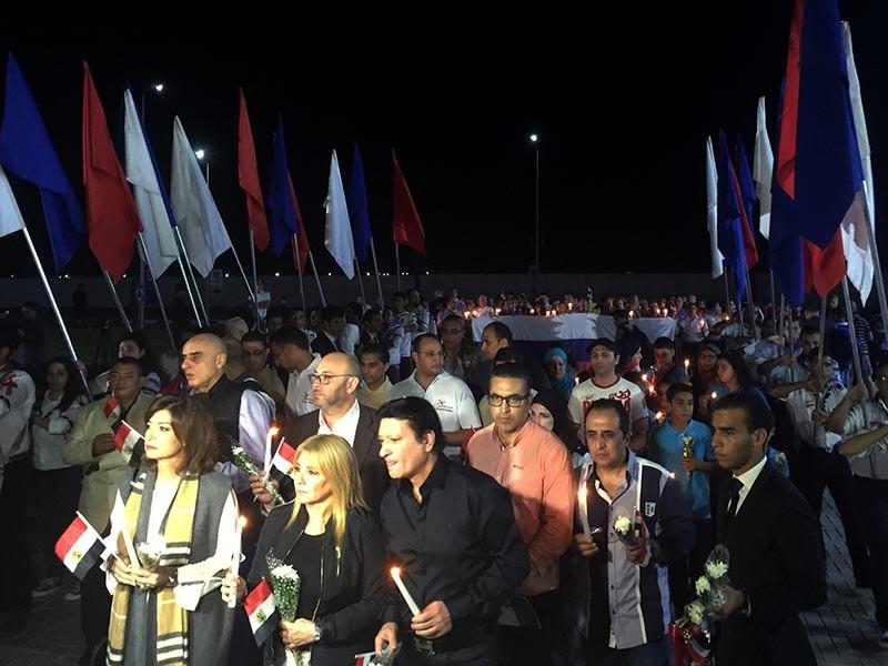 В России и Египте в понедельник, 31 октября, вспоминают жертв катастрофы российского самолета A321, год назад потерпевшего крушение над Синайским полуостровом