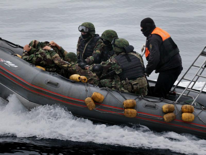 В результате действий сотрудников пограничного управления ФСБ девять человек получили ранения