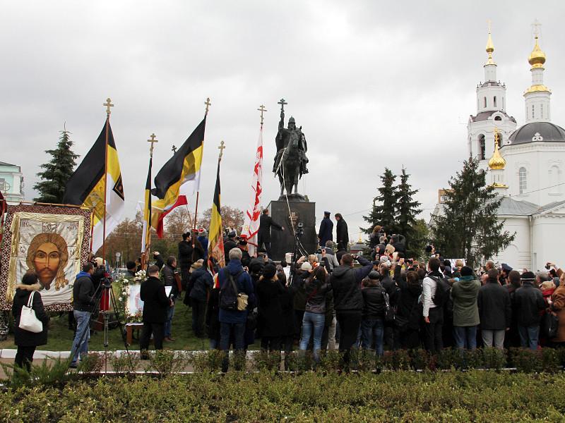 14 октября 2016 года в Орле открыли первый в России памятник царю Ивану Грозному