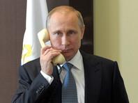 Путин по телефону обсудил ситуацию в Сирии и на Украине с Меркель и Олландом