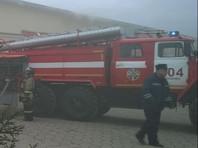 """В Московской области крупный пожар произошел в магазине """"Дикси"""", в результате инцидента никто не пострадал"""