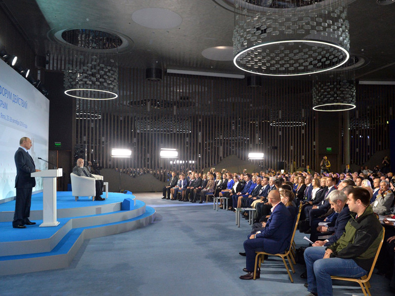 Путин призвал грамотно распределять вложенные в развитие Крыма средства