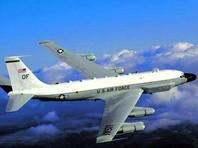 Американский самолет-разведчик RC-135W подлетел вплотную к границам Калининградской области