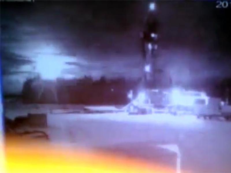 В небе над Бурятией разглядели объект с зеленым сиянием, возможно - межконтинентальную ракету