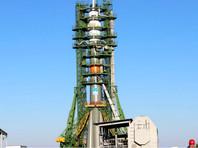 """Ракету """"Союз-ФГ"""", которая доставит космонавтов на МКС, установили на стартовой площадке"""
