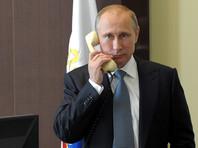 Путин по телефону обсудил с Эрдоганом ситуацию в Сирии