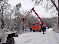 Неделю назад из-за мороза и ветра Калужская область уже стала лидером по масштабам отключений потребителей от электросети