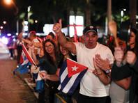 Бежавшие в США кубинцы празднуют смерть Кастро как символ перемен