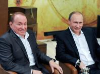 Владимир Путин и Александр Мясляков, 25 июля 2015 года