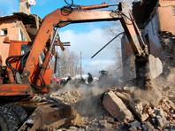 Разрушенный взрывом газа дом в Иваново снесут
