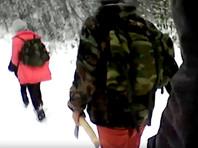 В башкирском селе детей вооружили топорами для защиты от волков по пути в школу