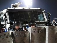 """Федеральная служба войск национальной гвардии РФ (Росгвардия) получила на вооружение специальную водометную инженерную машину разграждения """"Торнадо"""", которую можно использовать для подавления массовых беспорядков"""