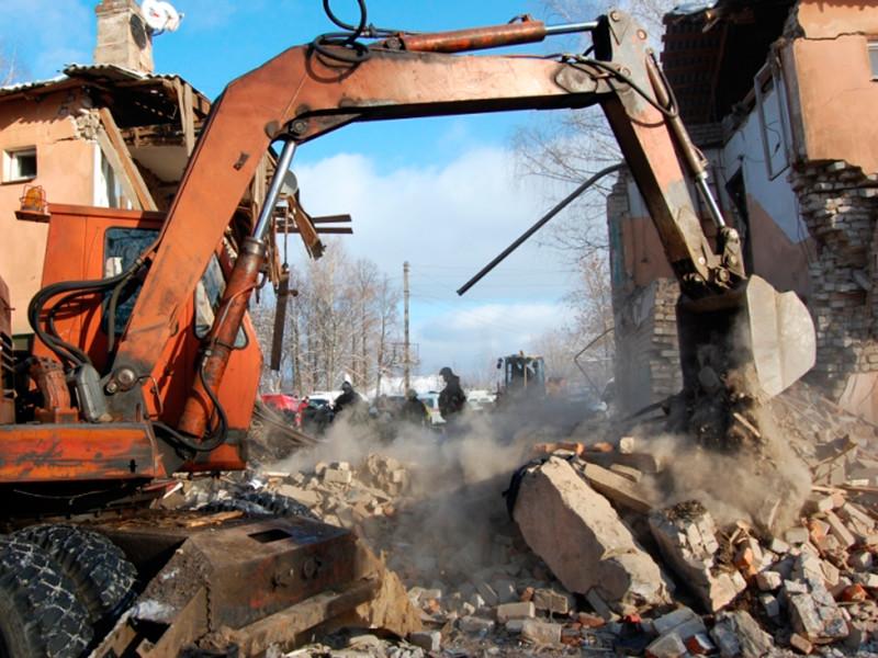 Разрушенный взрывом газа в Иваново дом снесут