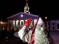 Финский Дед Мороз впервые прилетел в Екатеринбург и озяб