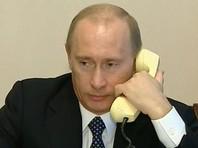 Путин обсудил с Меркель по телефону реализацию минских договоренностей