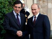 Франсуа Фийон и Владимир Путин, ноябрь 2009 года