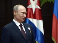 """Списавший Кубе 32 млрд долларов долгов Путин назвал Кастро """"искренним и надежным другом"""""""