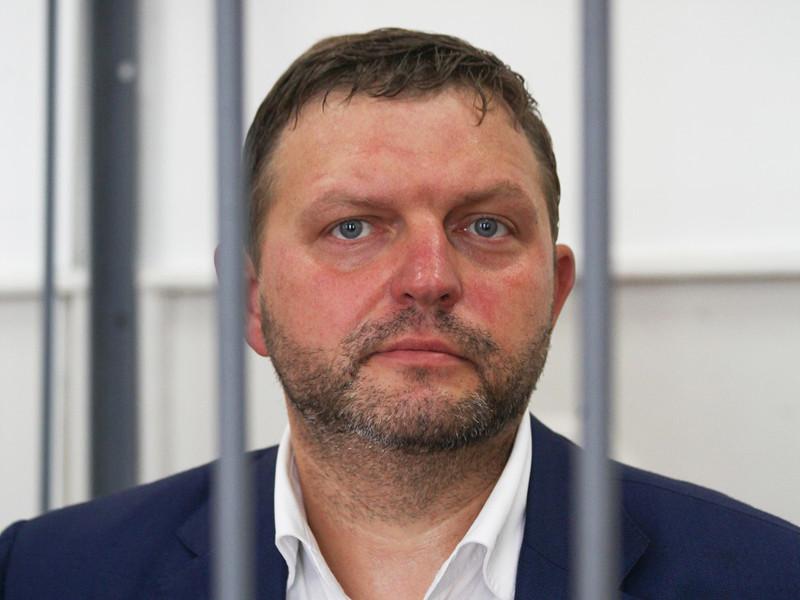 Экс-губернатор Кировской области Никита Белых во время судебного заседания