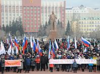 Официальный представитель МВД РФ Ирина Волк сказала, что сегодня по всей стране состоялось более тысячи праздничных мероприятий - митинги, шествия, музыкальные фестивали и концерты