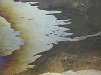 В Крыму все побережье Судака оказалось загрязнено мазутом
