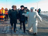 Депутат-единоросс из Тюмени объяснила, зачем нарядилась медведем на открытие дороги (ФОТО)