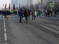"""""""Движение началось, прошли метров 20 и встали. Всего 507 человек"""", - сообщает социологическая служба MobCounter2015"""
