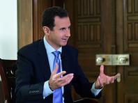 Власти РФ считают Асада законно избранным президентом Сирии