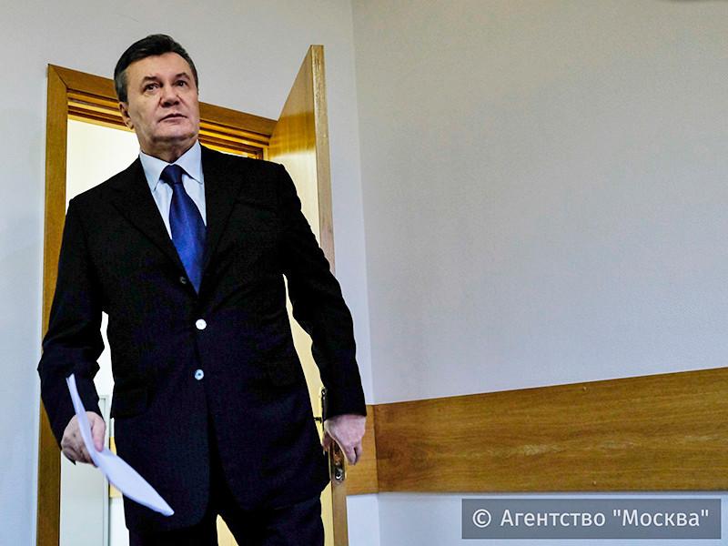 Янукович неожиданно явился в московский суд и рассказал об иностранных снайперах на Майдане